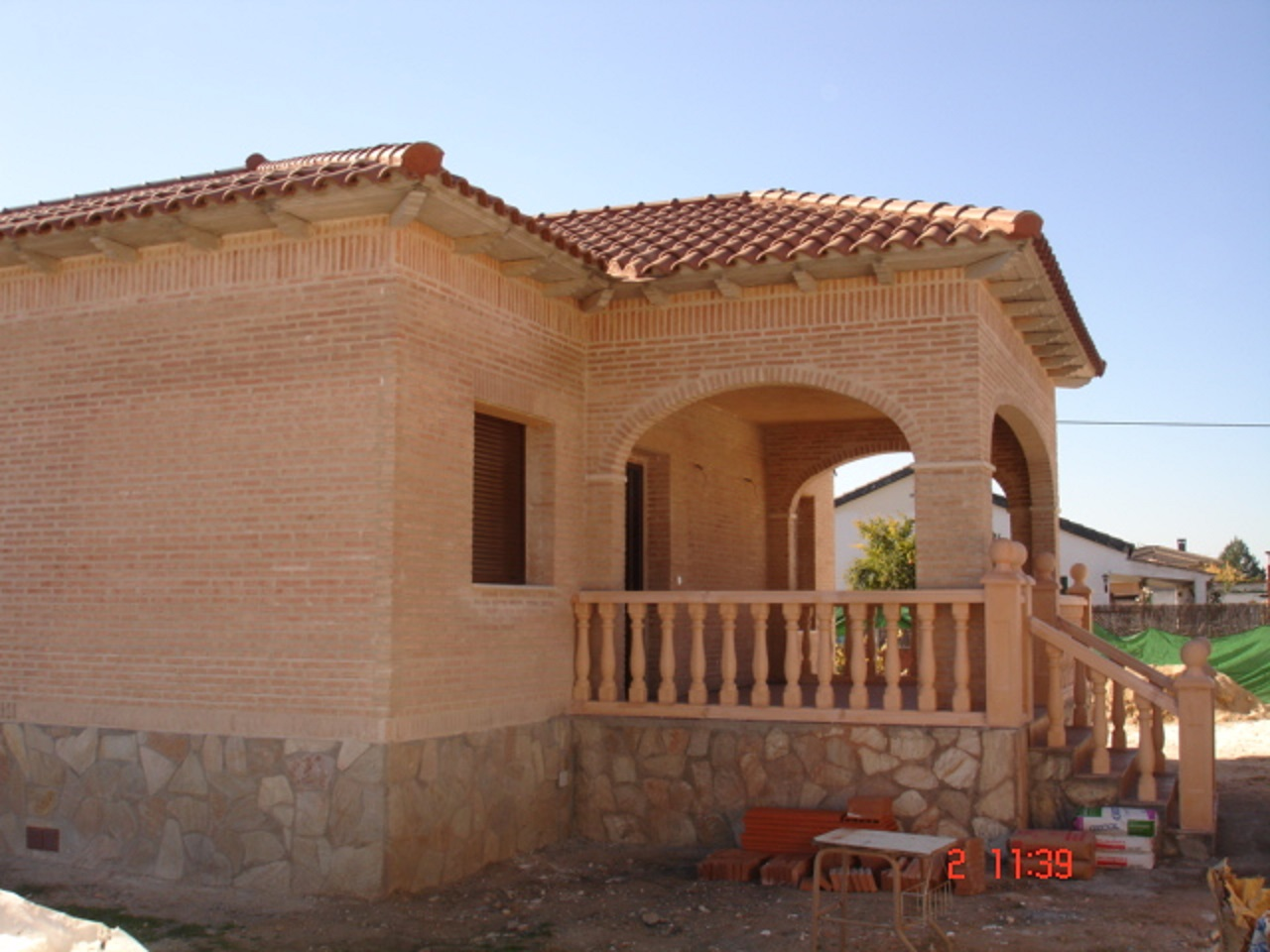 Affordable Gallery Of Chalet Escalona With Fachadas De Piedra Y Ladrillo  Rustico With Fachadas De Piedra Y Ladrillo.